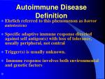 autoimmune disease definition