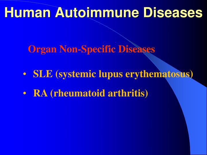 Human Autoimmune Diseases