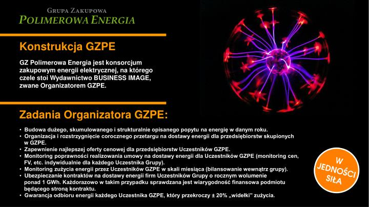 Konstrukcja GZPE