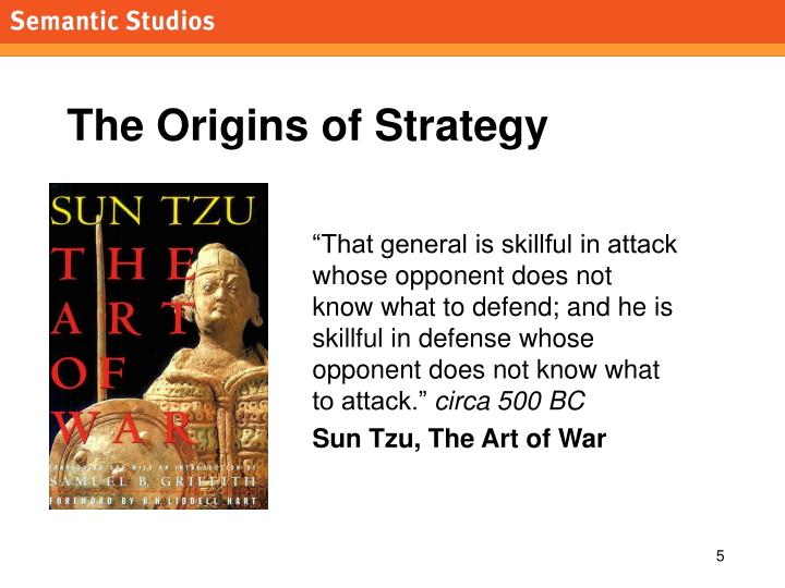The Origins of Strategy
