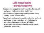 leki moczop dne diuretyki p tlowe1