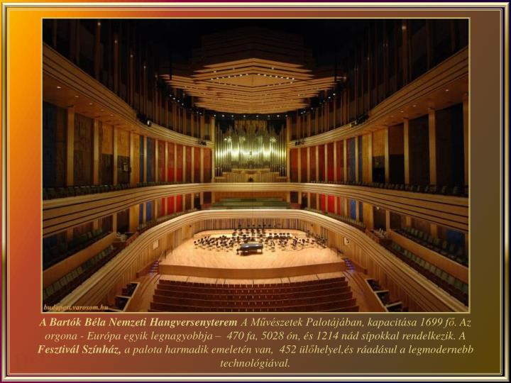 A Bartók Béla Nemzeti Hangversenyterem