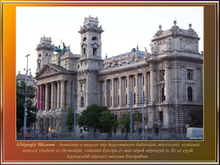 ANéprajzi Múzeum