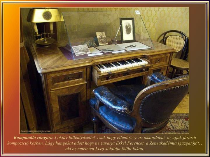 Komponáló zongora
