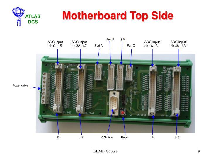 Motherboard Top Side