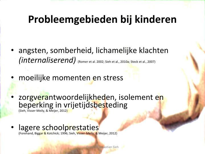 Probleemgebieden bij kinderen