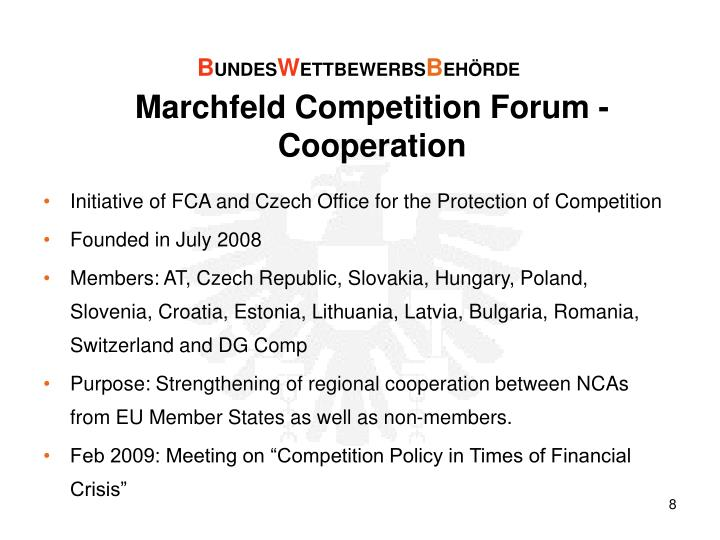 Marchfeld Competition Forum