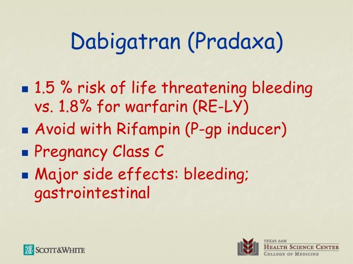 Dabigatran (Pradaxa)