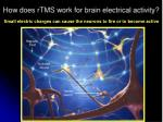 how does rtms w ork for brain electrical activity1