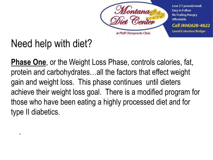 Need help with diet?
