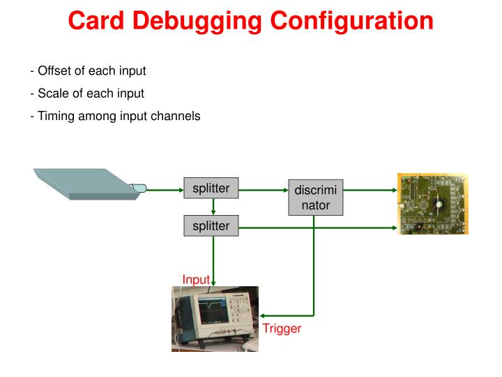 Card Debugging Configuration