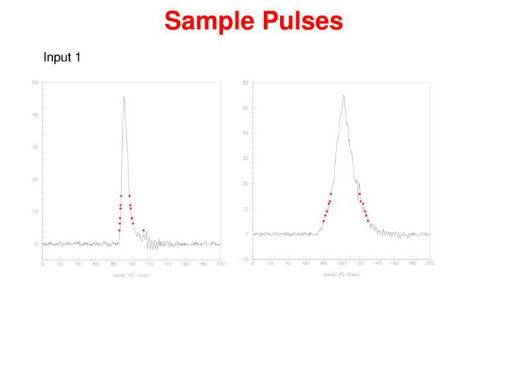 Sample Pulses
