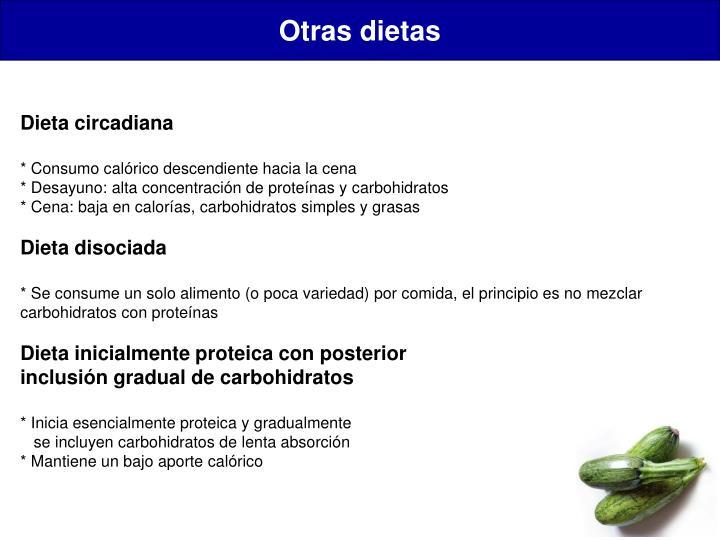 Otras dietas