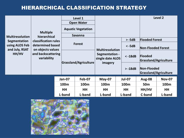 HIERARCHICAL CLASSIFICATION STRATEGY