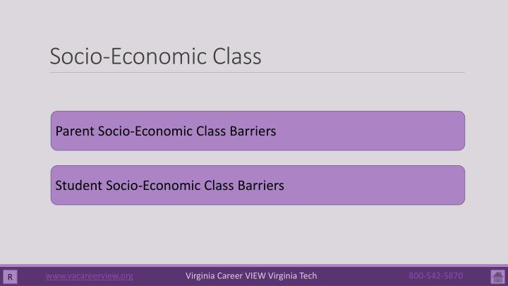 Socio-Economic Class