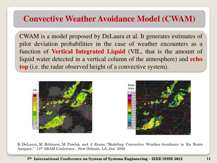 Convective Weather Avoidance Model (CWAM)
