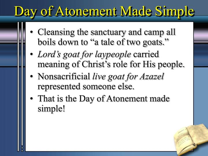 Day of Atonement Made Simple