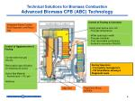 technical solutions for biomass combustion advanced biomass cfb abc technology