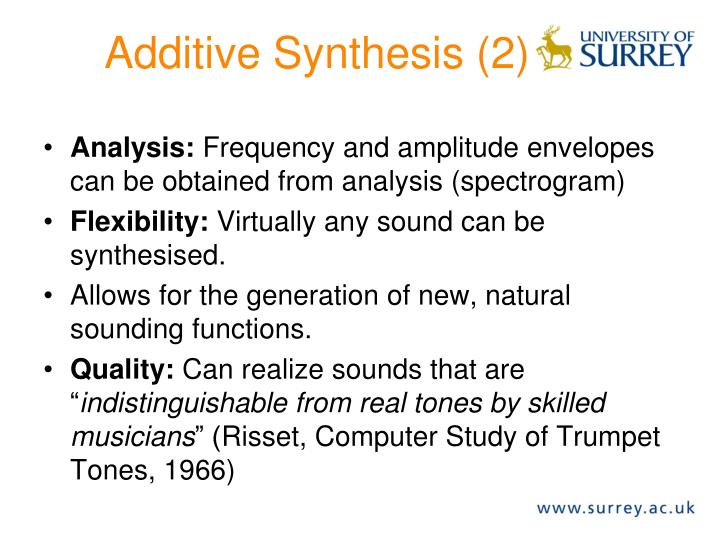 Additive Synthesis (2)