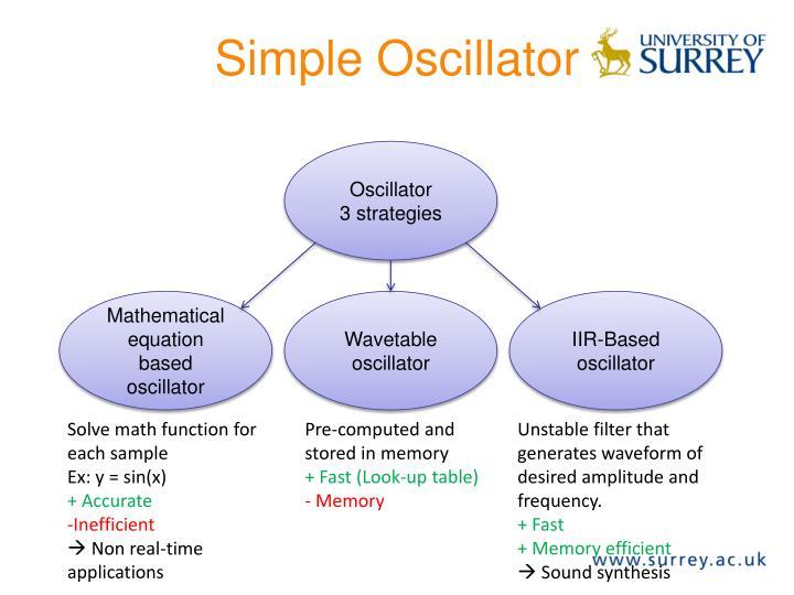 Simple Oscillator