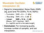 wavetable oscillator interpolation 6