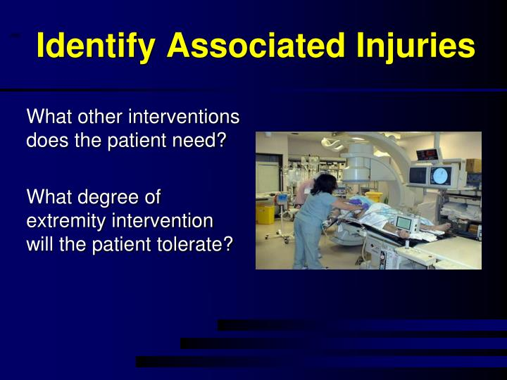 Identify Associated Injuries
