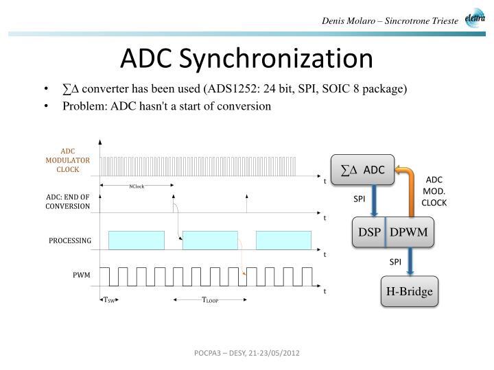 ADC Synchronization