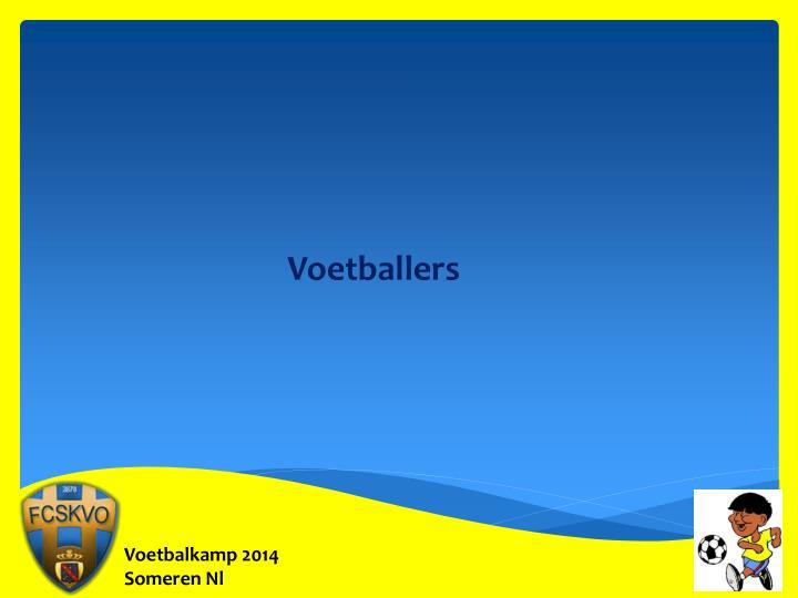 Voetballers