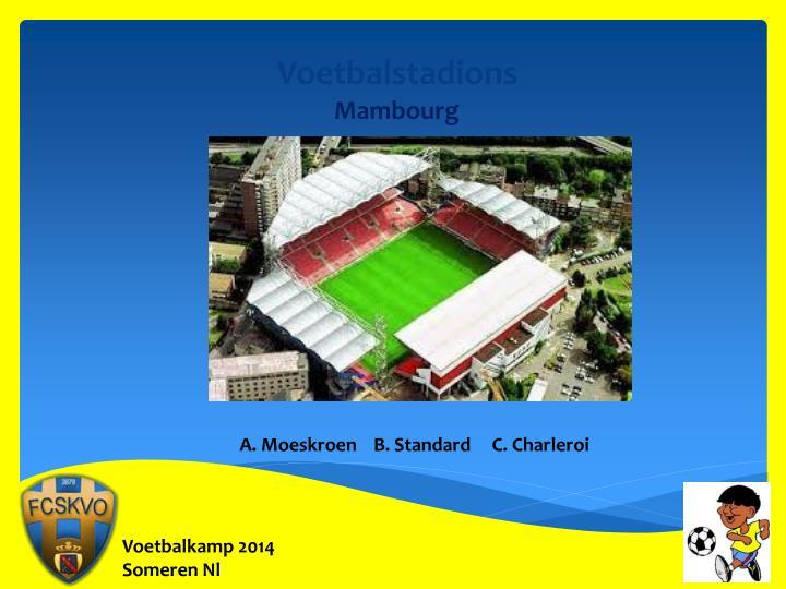Voetbalstadions