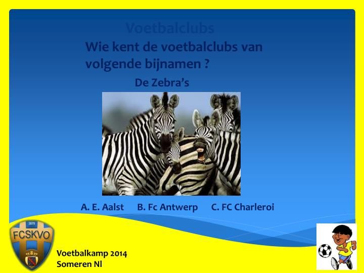 Voetbalclubs
