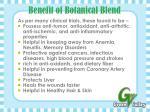 benefit of botanical blend