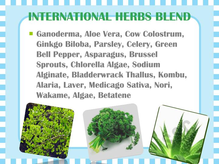 INTERNATIONAL HERBS BLEND