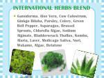 international herbs blend