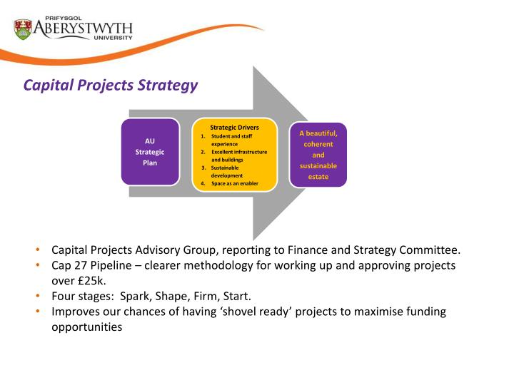 Capital Projects Strategy