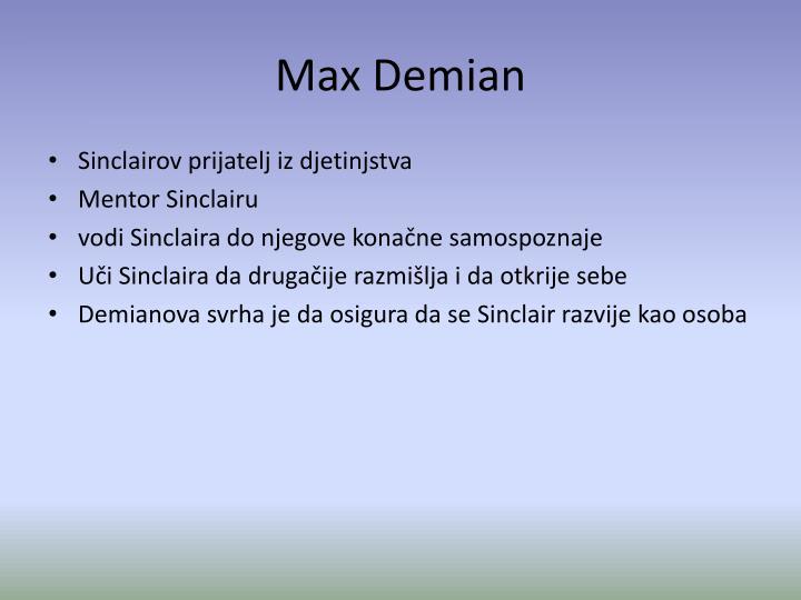 Max Demian