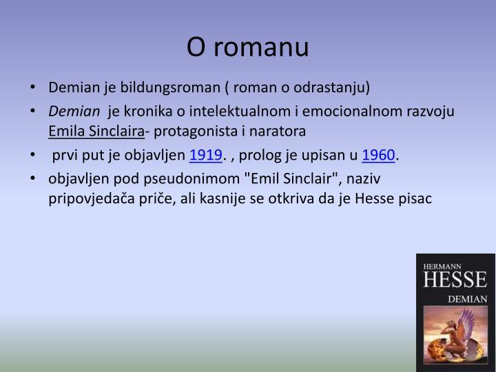 O romanu