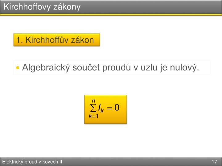Kirchhoffovy