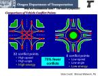 why are roundabouts safer the laws of physics