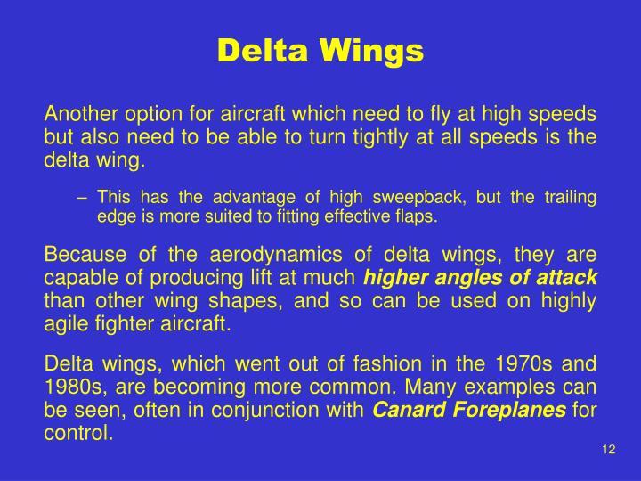 Delta Wings