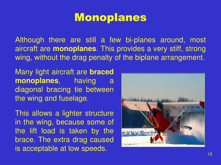 Monoplanes