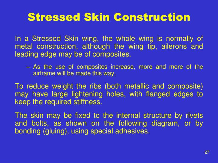Stressed Skin Construction