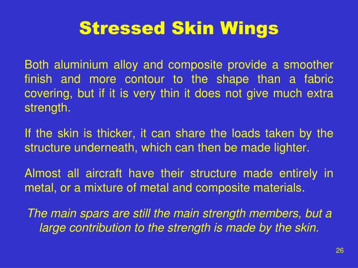 Stressed Skin Wings