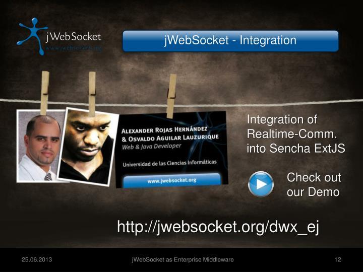 jWebSocket - Integration