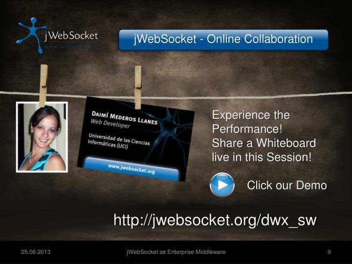 jWebSocket - Online Collaboration