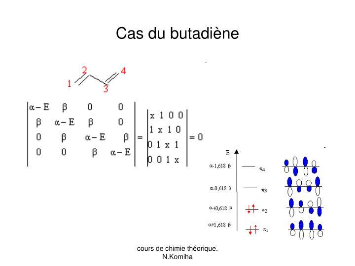 Cas du butadiène
