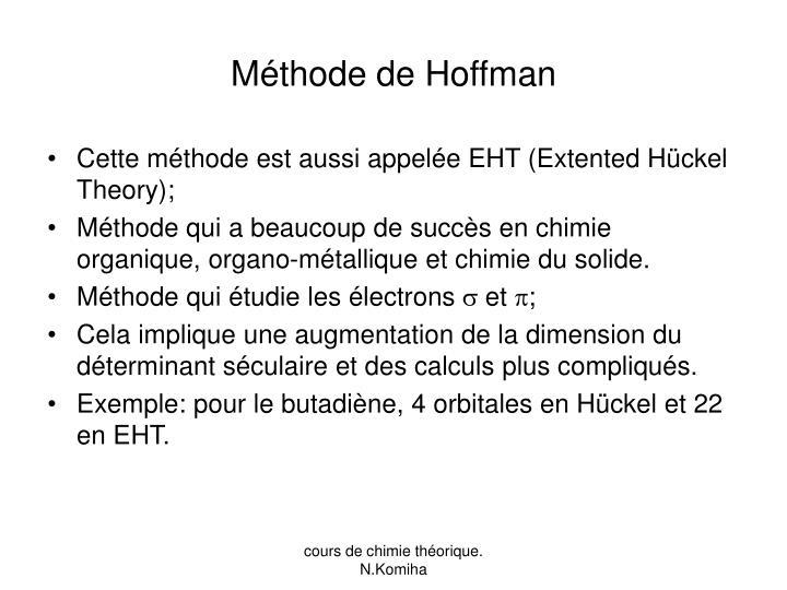 Méthode de Hoffman