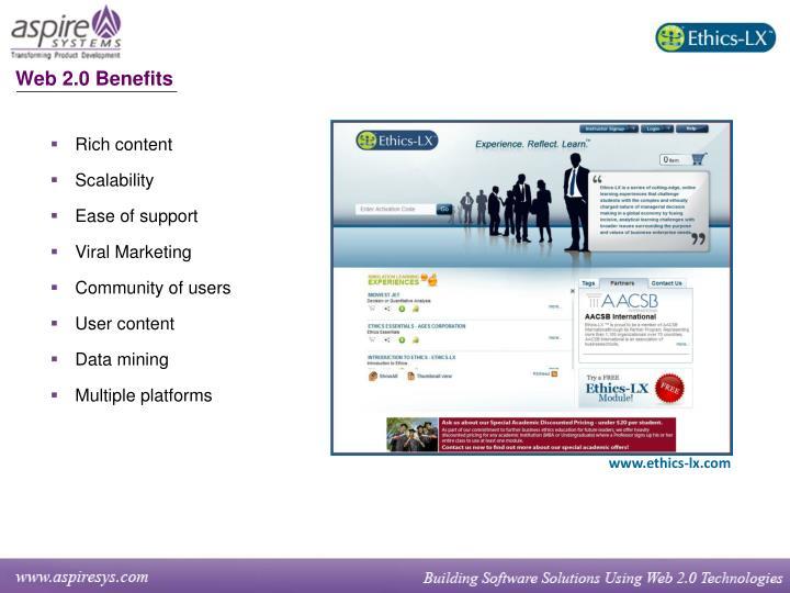 Web 2.0 Benefits