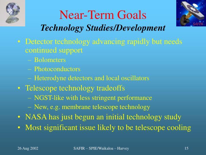 Near-Term Goals
