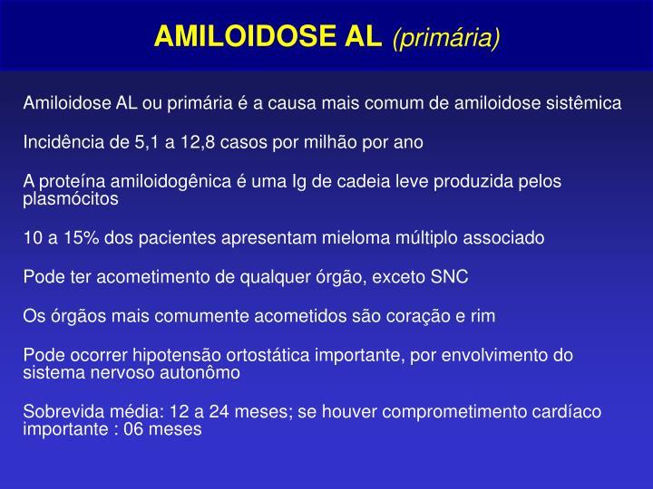 AMILOIDOSE AL