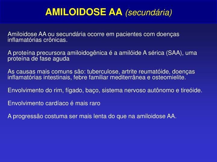 AMILOIDOSE AA